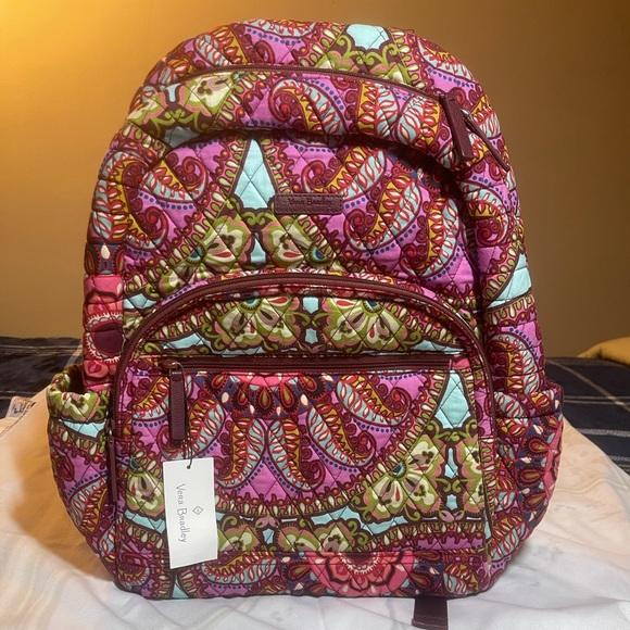 Vera Bradley Essential Backpack Resort Medallion